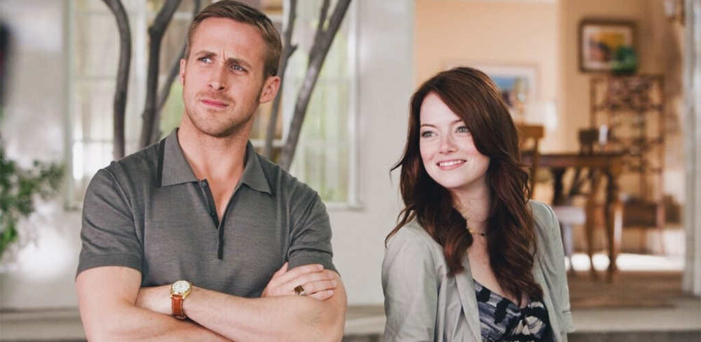 Ryan Gosling et Emma Stone dans Crazy Stupid Love