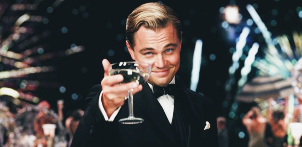 Leonardi DiCaprio dans Gatsby le magnifique