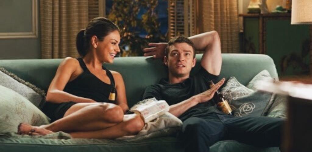 Mila Kunis et Justin Timberlake dans Sexe entre amis
